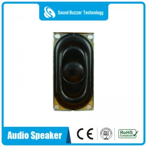 20*40mm housing speaker flat panel speaker with ROHS compliant