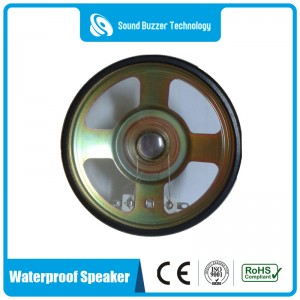 High quality loudspeaker 2.5inch 8ohm 3w waterproof speaker