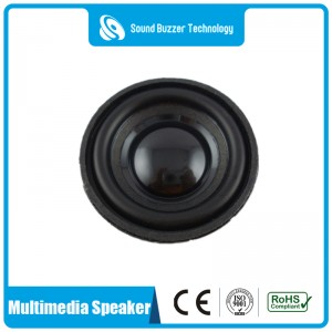 Free sample speaker raw 36mm 4ohm 3w loudspeaker driver