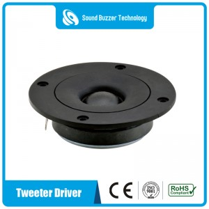 Free sample 4 inch speaker parts 101mm tweeter 50w speaker