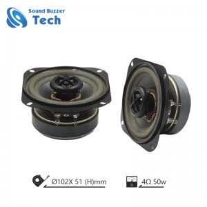 4 inch New design loudspeaker unit 102mm auto speaker