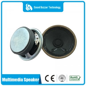 57mm speaker with external magnet 8ohm 3w mini speaker