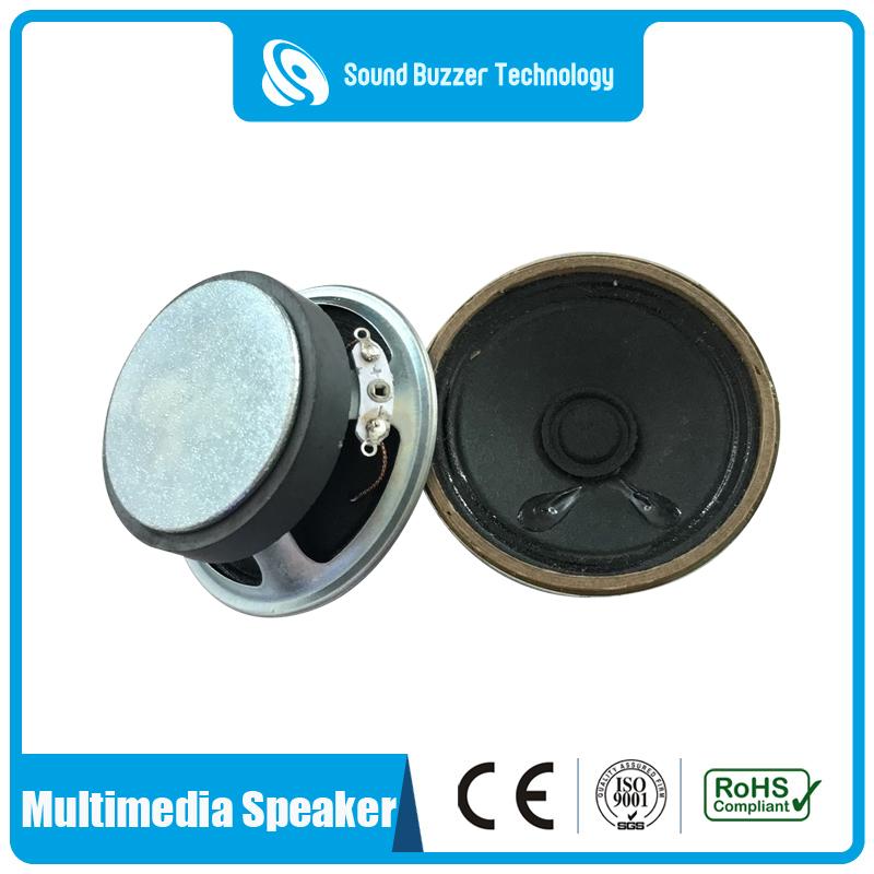 Well-designed Small Round Speaker - Big sound speakre for Call machine 57mm 8 ohm speaker  – Sound Buzzer Technology