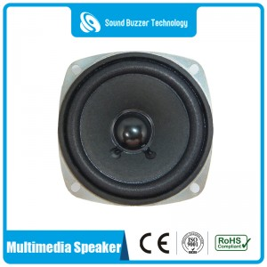 Good frequency 3 inch  professional audio powered loudspeaker