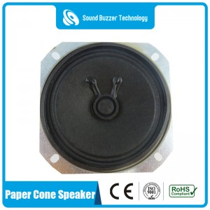 3 inch speaker unit 77mm 3w 8ohm loudspeaker