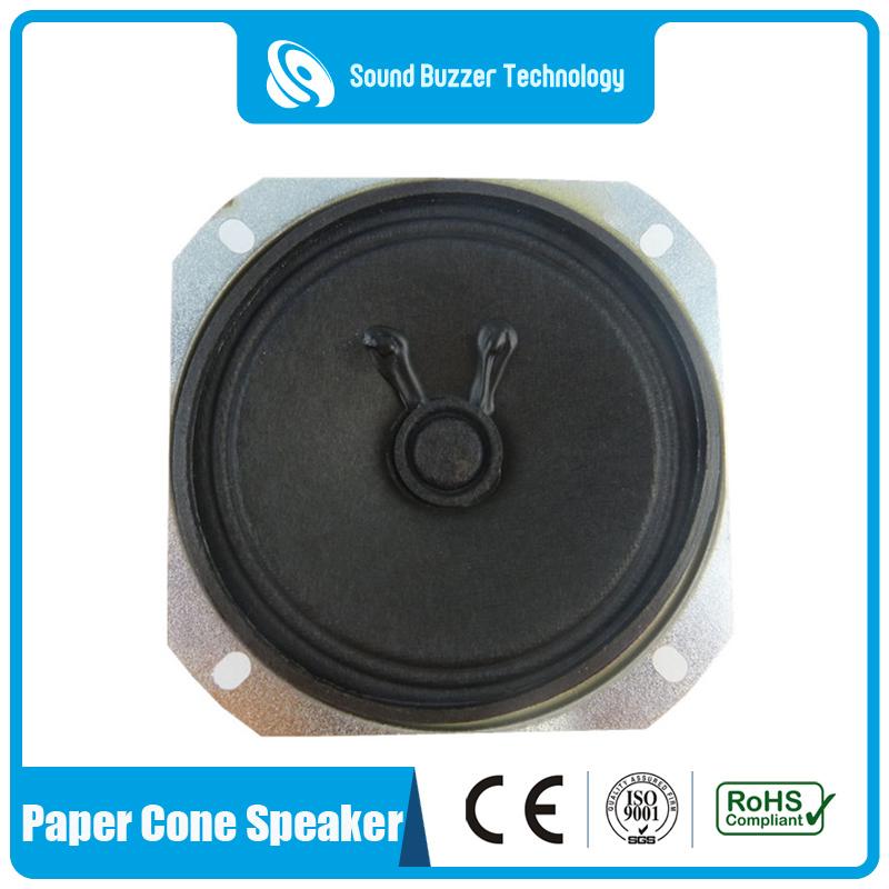 High Quality Usb Speaker Box With Fm Radio - 3 inch speaker unit 77mm 3w 8ohm loudspeaker – Sound Buzzer Technology
