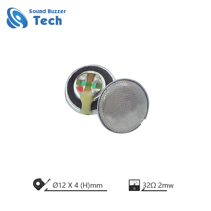 Labākais micro skaļrunis austiņu 12mm runātājs vadītāja vienība Featured attēlu