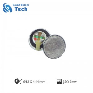 Hifi loudspeaker unit for earphone 12mm 32 ohm bass headphone speaker parts