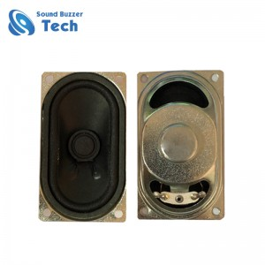 Free sample 40x70mm 16ohm 3 watt internal tv speakers