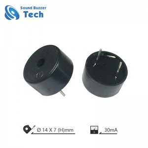 New design driver speaker 14mm 12v piezo buzzer