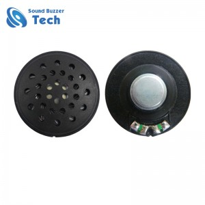 Good sound headset speaker parts 40mm 100 ohm 0.1 watt speaker