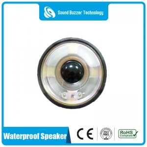 Full range waterproof speaker 57mm 3w 8 ohm multimedia speaker