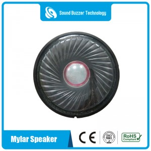 2 inch Mylar cone sound speaker waterproof speaker for headphone