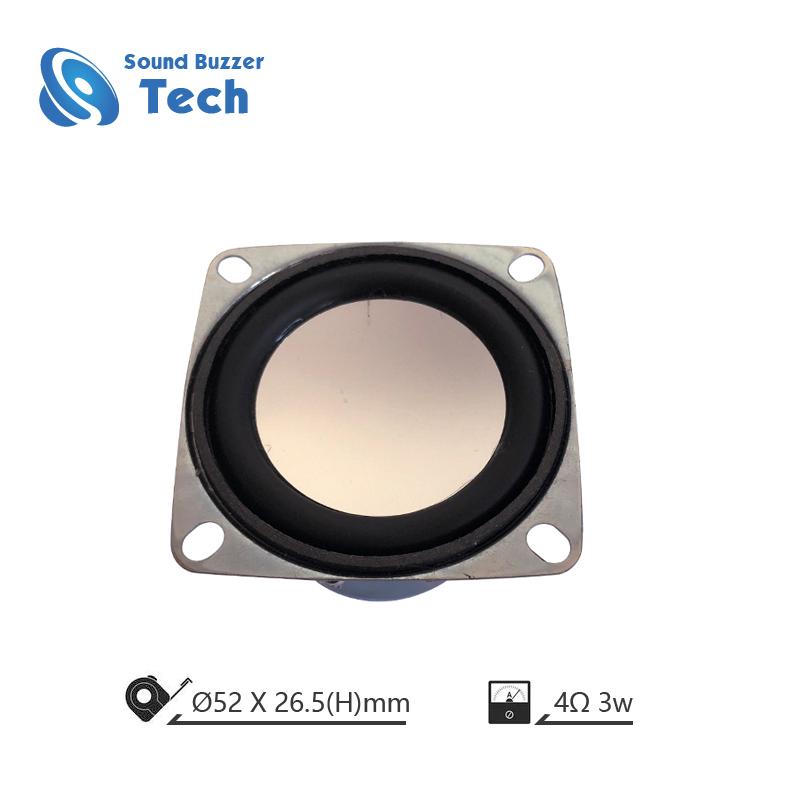 Hot Sale multimedia speaker driver 52mm 3w 4 ohm speaker Featured Image