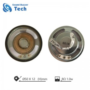 Factory price 50mm 8ohm waterproof speaker