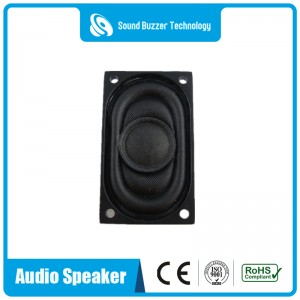 Good sound Media loudspeaker 20x35mm 8ohm 2watt speaker driver