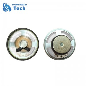 Good sound quality mini speaker 40mm 16 ohm 2 watt 1.5 inch speaker