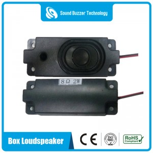 Free sample sound speaker Media box speaker 8ohm 2 watt