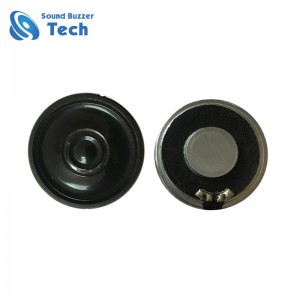 Excellent sound raw speaker for led display 23mm 8ohm 0.5 watt ROHS speaker