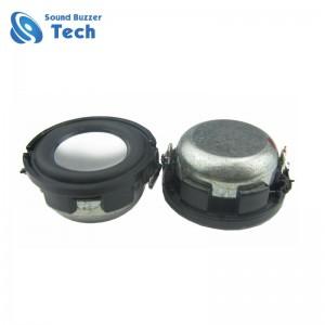 New design loudspeaker unit for multimedia 24mm 4 ohm or 8 ohm 2 watt mini speaker driver