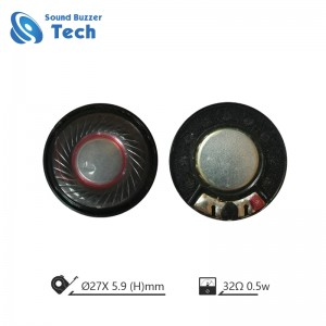 Wholesale Cheap price 27MM 32ohm 0.5W Phone Speaker