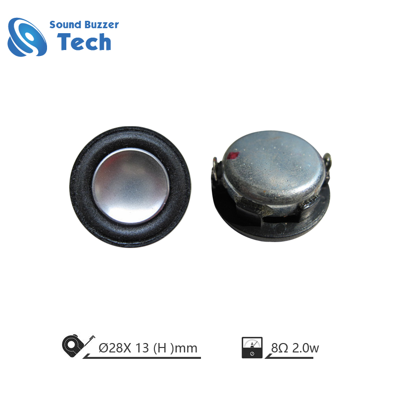 Music speaker driver 28-36mm 4ohm 2w loudspeaker unit Featured Image