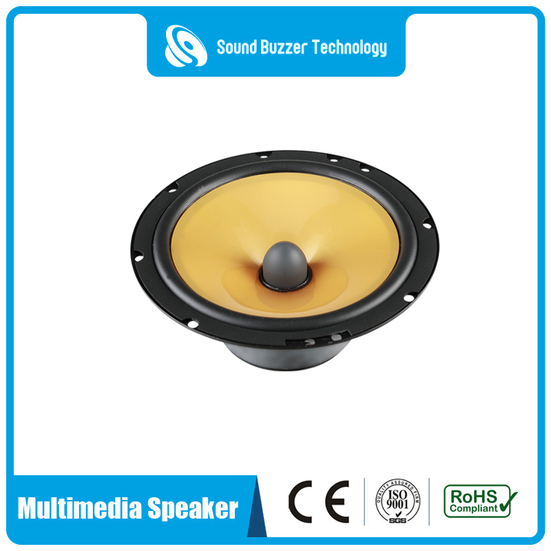 Hot sale Factory 50 Watt Driver Unit - 6.5 inch component speaker 4 ohm 50w speaker drivers – Sound Buzzer Technology