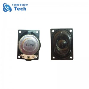 ROHS compliant mini loudspeaker unit 28x40mm 2w 4ohm speaker for Tablet PC