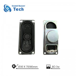 Professional LCD TV Speaker Unit 30X70mm 8ohm 5w tv speaker unit