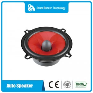 Good sound Wide range 5 INCH auto speaker
