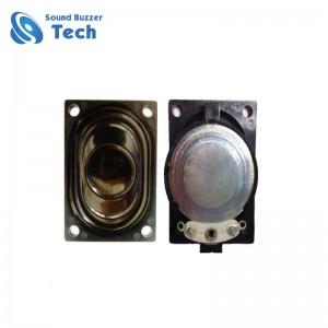 High quality mini speaker driver 28x40mm mylar cone micro speaker 2w