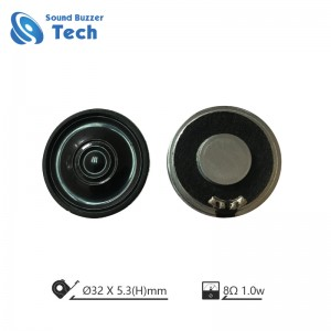 Best Quality Small Loudspeaker unit 32mm micro raw speaker