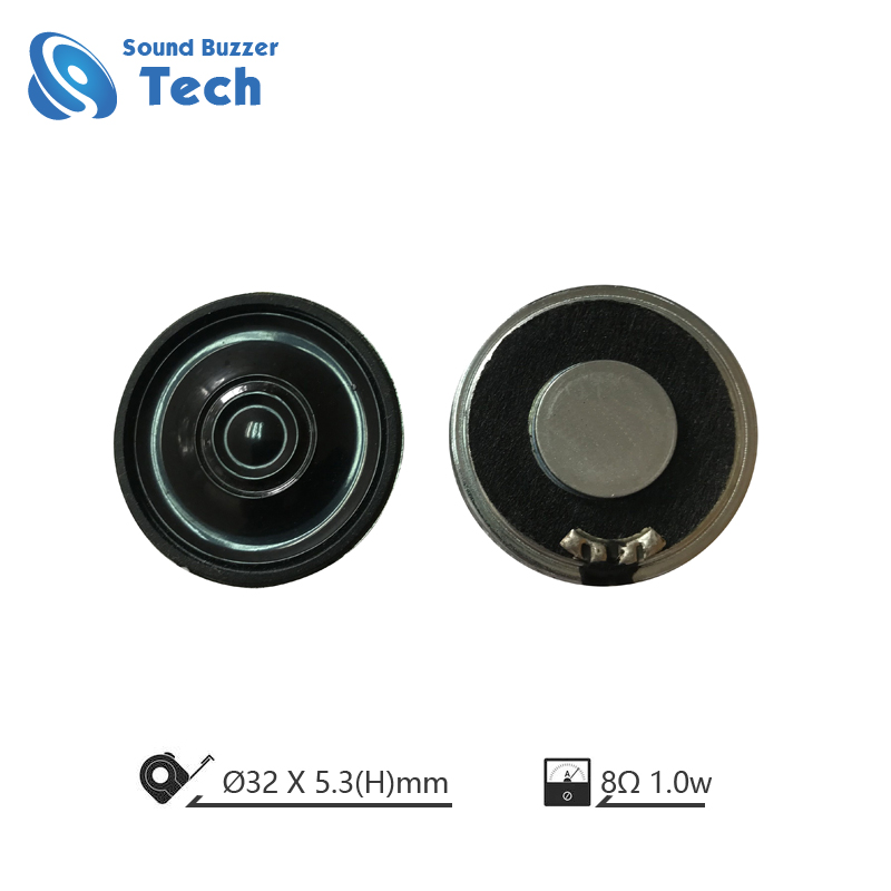 Best Quality Small Loudspeaker unit 32mm micro raw speaker Featured Image