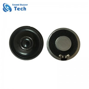 Professional mylar speaker supplier provide different size 36mm mylar speaker