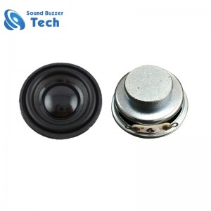 High quality music speaker driver 36mm 4 ohm 3w small sound speaker