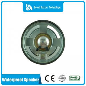 wholesale cheap price 8ohm 1w 77mm waterproof speaker