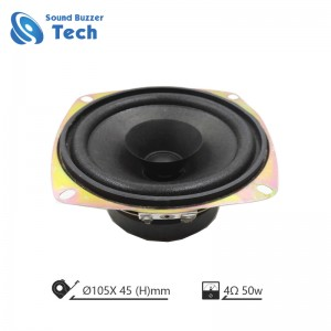 Top sales Auto sprekker driver 105mm 4ohm speaker