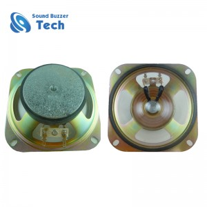 Free sample 4 inch speaker driver with mounting hole 102mm 16ohm 5w loudspeaker