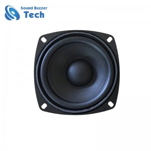 Good sound 105mm car tweeters 4 inch 8ohm 15w auto subwoofer