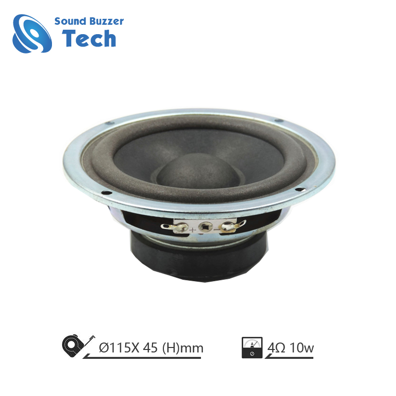 Professional auto loudspeaker unit 5 inch 4 ohm 10w speaker with clear sound Featured Image
