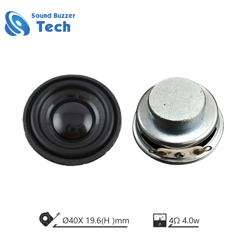 Good sound Nd-Fe-B magnet raw audio speaker 40mm 4ohm 3w speaker unit Featured Image