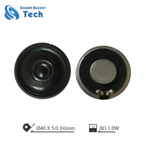 Great sound mylar speaker 40mm 8ohms 1 watt 98db speaker driver