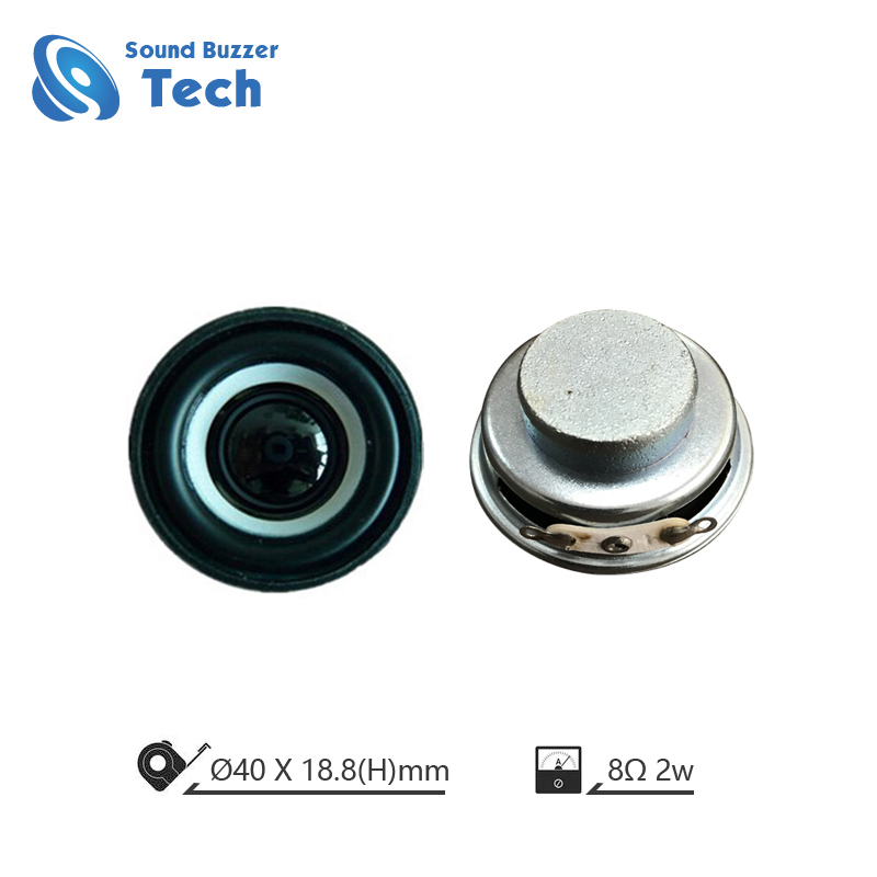 Best loudspeaker unit for AI speaker box 40mm 8ohm 2w internal speaker Featured Image