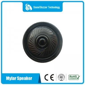 Good sound mylar speaker 40mm 16ohm 1w loudspeaker