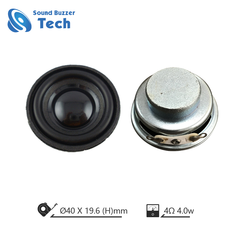 Hifi loudspeaker unit IP67 waterproof speaker 40mm 4 ohm 3 watt Featured Image