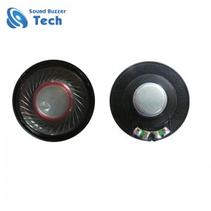 Good sound speaker 40mm 32 ohm for headphone