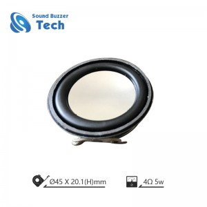 Good sound music speaker 45MM 4 Ohm Speaker Unit