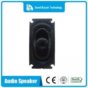 Micro speaker 4ohm 2w flat panel 16*35MM music speaker