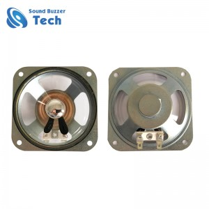 Best quality loudspeaker parts 3 inch 78mm waterpfoof cone 5w 4ohm speaker