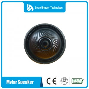 Excellent sound quality 40mm small speakers